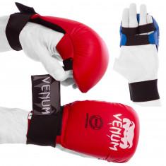 Перчатки для карате Venum накладки