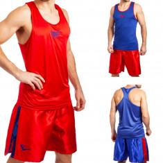 Форма боксерская с двухсторонней майкой (красно-синяя)