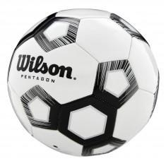 Мяч футбольный Wilson Pentagon white/black size 5