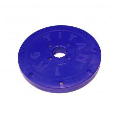 Блин покрытый пластиком 1 кг диаметр 26 мм
