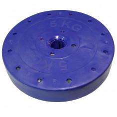 Блин покрытый пластиком 5кг диаметр 26мм