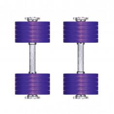 Гантели разборные 11 кг Титан Плюс пара (универ)