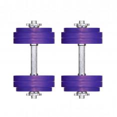 Гантели разборные 11 кг Титан Плюс пара