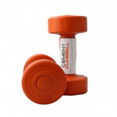 Гантели для фитнеса 1 кг LiveUp CEMENT DUMBELL (пара)
