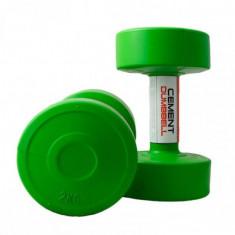 Гантели для фитнеса 2 кг LiveUp CEMENT DUMBELL (пара)