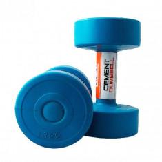 Гантели для фитнеса 3 кг LiveUp CEMENT DUMBELL (пара)