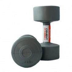 Гантели для фитнеса 4 кг LiveUp CEMENT DUMBELL (пара)