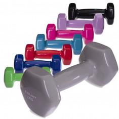 Гантели для фитнеса 2 кг шестигранные (пара)