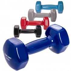 Гантели для фитнеса 4 кг шестигранные (пара)