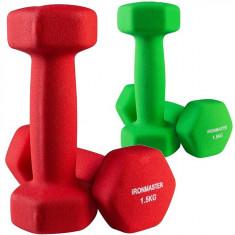 Гантели для фитнеса 1,5 кг IronMaster (пара)