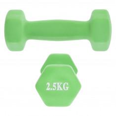 Гантели для фитнеса 2,5 кг NEOPRENE ZELART (пара)