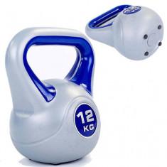 Гиря пластиковая 12 кг PLASTIC KETTEL BELL