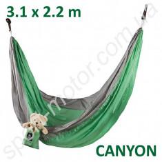 Гамак GreenCamp CANYON парашютный шелк (3,1 х 2,2 м)