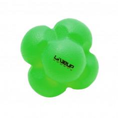 Мяч для тренировки реакции LiveUp REACTION BALL салатовый