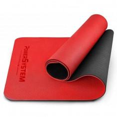 Йога-мат POWER SYSTEM YOGA MAT PREMIUM PS-4060 Red