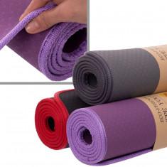 Коврик TPE с окантовкой Yoga Mat 6 мм