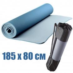 Коврик для йоги и фитнеса YNIZ TPE 185 х 80 см