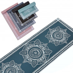 Коврик для занятий Yoga mat FLOWER PVC 6 мм