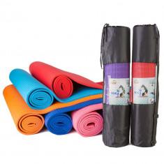 Коврик Yoga mat GreenCamp PVC 6 мм с чехлом