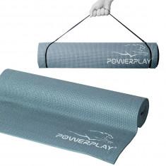 Коврик для йоги и фитнеса PowerPlay 4010 Grey