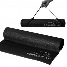Коврик для йоги и фитнеса PowerPlay 4010 Black