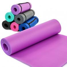 Коврик для фитнеса и йоги NBR Planeta 183 х 60 х 10мм