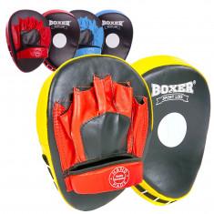 Лапы гнутые Boxer кожаные