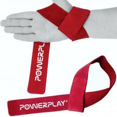 Лямки для тяги Power Play 5205 кожаные