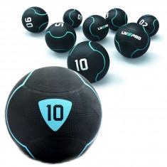 Медбол с отскоком Livepro SOLID MEDICINE BALL вес от 1 до 10 кг