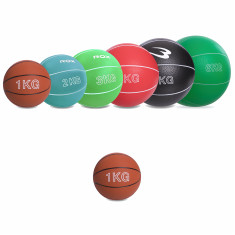 Медбол Record Medicine Ball 1 кг резиновый