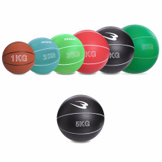 Медбол Record Medicine Ball 5 кг резиновый