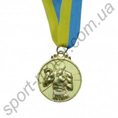 Медаль спортивная Бокс 1 место 28g