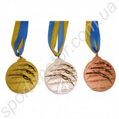 Медаль за 1, 2, 3 место Плавание 56g