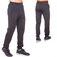 Штани спортивний з манжетом чорні (LD-9303)