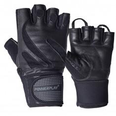 Перчатки для фитнеса PowerPlay 1064 (кожа)