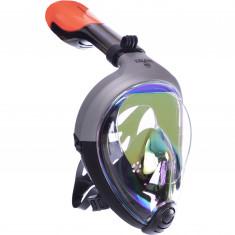 Маска для снорклинга Zelart M502 зеркальная