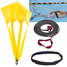 Эспандер для плавания 4 метра плюс парашют
