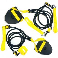 Тренажер для плавания с лопатками 4 жгута
