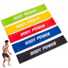 Набор эспандеров BODY POWER 5 штук