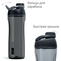 Бутылка для воды BlenderBottle Tero Tritan 25oz/735ml Black