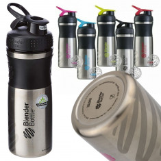 Бутылка-шейкер BlenderBottle SportMixer Stainless Steel 820 ml