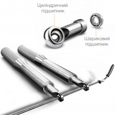 Скакалка скоростная алюминиевая PowerPlay 4207