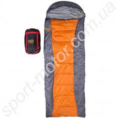 Спальник GreenCamp 450гр/м2 оранжевый