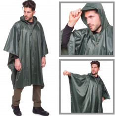 Дождевик плащ-палатка 145 х 107 см хаки
