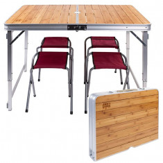 Стол для пикника плюс 4 стула GreenCamp