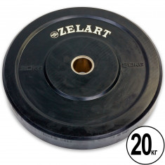 Блины бамперные Bumper Plates Z-TOP 20 кг