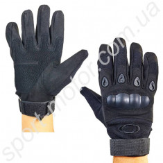 Перчатки тактические с пластиковой защитой OAKLEY