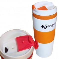 Термокружка Edel Hoff EH-5310 380 мл оранжевая