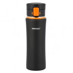 Термокружка КН-4371 480 мл с оранжевым клапаном