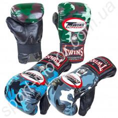 Перчатки снарядные кожаные TWINS FTBGL-1F камуфляж